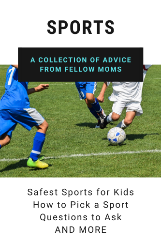 Youth Sports Collection with picture of kids playing soccer