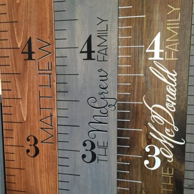 growth chart ruler