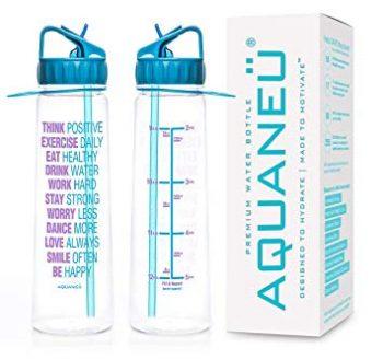 inspirational water bottle